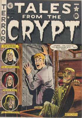 Tales from the Crypt #23. Click for current values.