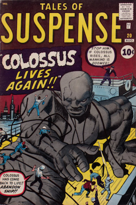 Tales of Suspense #20. Click for current values.