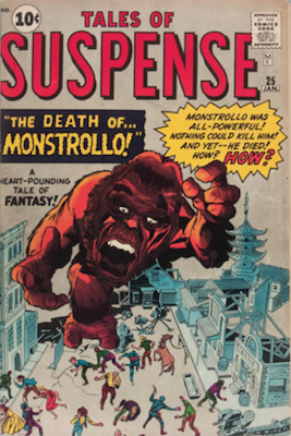 Tales of Suspense #25. Click for current values.