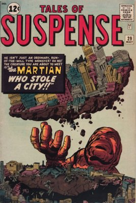 Tales of Suspense #29. Click for current values.