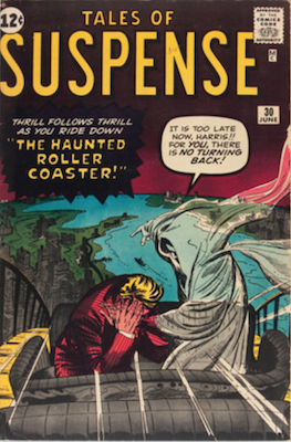 Tales of Suspense #30. Click for current values.