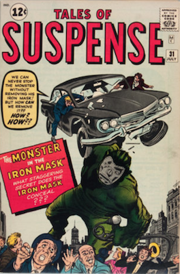 Tales of Suspense #31. Click for current values.