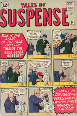 Tales of Suspense #34. Click for current values.