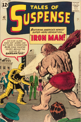 Tales of Suspense #40. Click for current values.