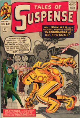 Tales of Suspense #41. Click for current values.