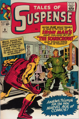 Tales of Suspense #51. Click for current values.