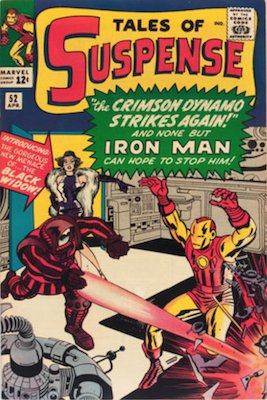 Tales of Suspense #52: First appearance of Black Widow. Click for values