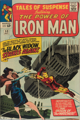4) Tales of Suspense #53: Second Black Widow Comic. Click for values