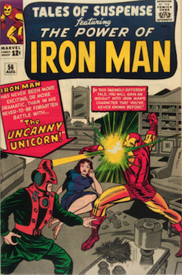 Tales of Suspense #56. Click for current values.