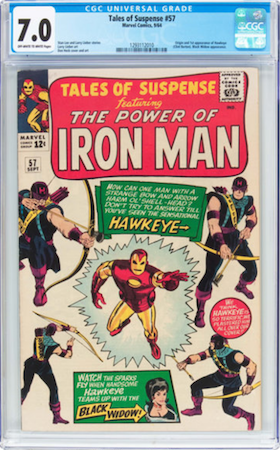 Tales of Suspense 57 is a tough book in high grade, and very expensive in VF or higher. Our pick is CGC 7.0. Click to buy a copy