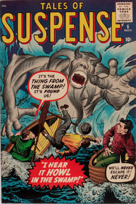 Tales of Suspense #6. Click for current values.