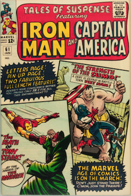 Tales of Suspense #61. Click for current values.