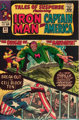 Tales of Suspense #62. Click for current values.