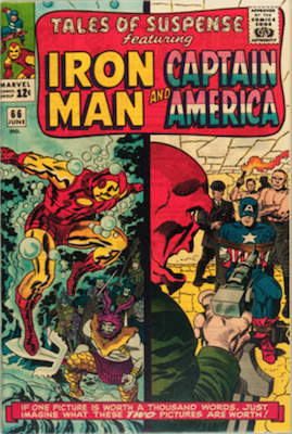 Tales of Suspense #66. Click for current values.