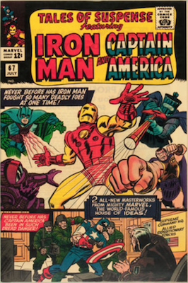 Tales of Suspense #67. Click for current values.