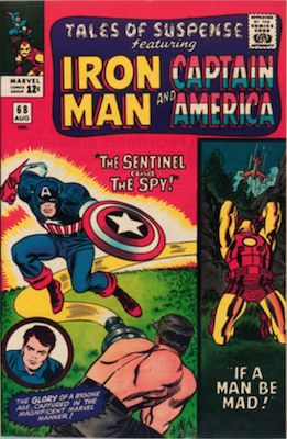 Tales of Suspense #68. Click for current values.