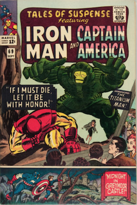 Tales of Suspense #69. Click for current values.