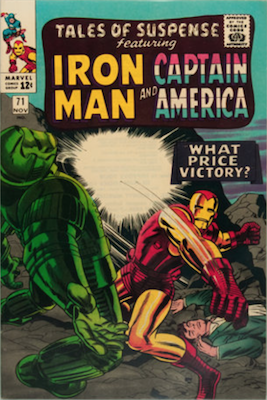 Tales of Suspense #71. Click for current values.