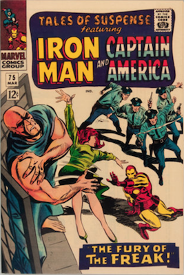 Tales of Suspense #75. Click for current values.