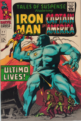 Tales of Suspense #77. Click for current values.