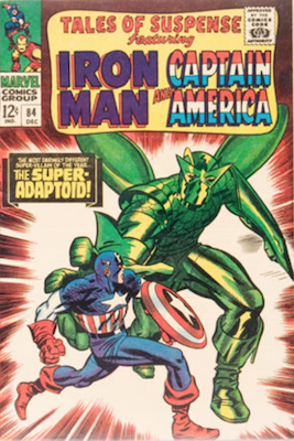 Tales of Suspense #84. Click for current values.