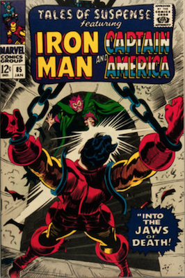Tales of Suspense #85. Click for current values.