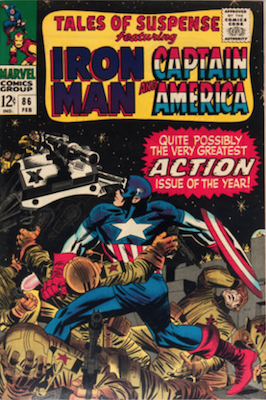 Tales of Suspense #86. Click for current values.