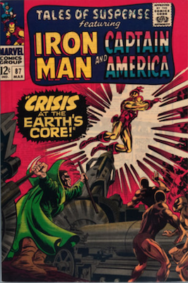 Tales of Suspense #87. Click for current values.