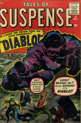Tales of Suspense #9. Click for current values.
