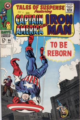 Tales of Suspense #96. Click for current values.