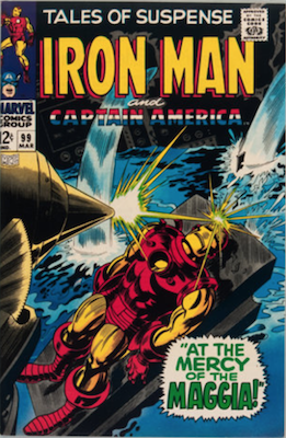 Tales of Suspense #99. Click for current values.