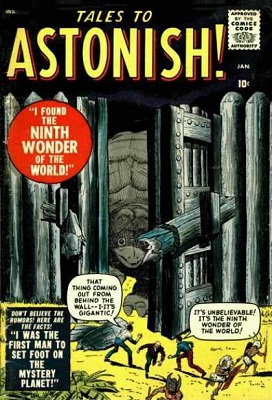 Tales to Astonish #1: First book in long-running series. Click for values