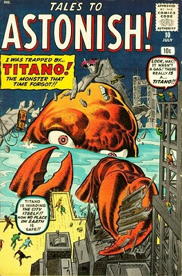 Tales to Astonish 10. Click for value