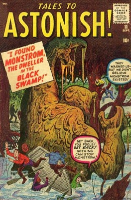 Tales to Astonish 11. Click for prices