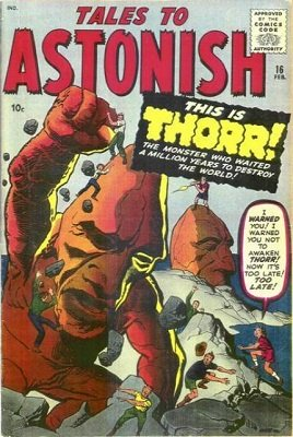 Tales to Astonish 16. Pre-hero Marvel. Click for value