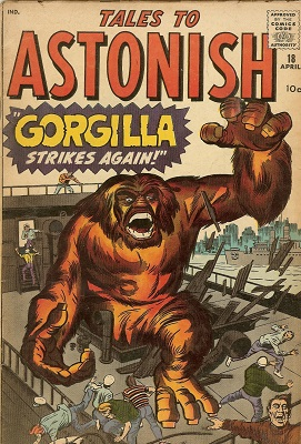 Tales to Astonish 18. Click for values