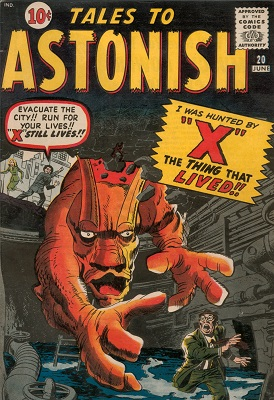 Tales to Astonish 20. Click for value
