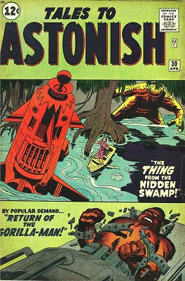 Tales to Astonish 30. Click for values