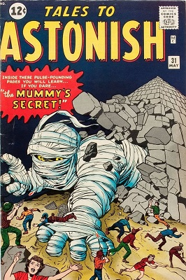 Tales to Astonish 31. Click for value