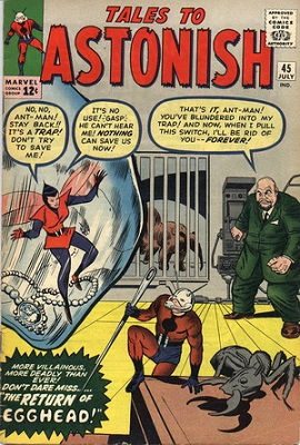 Tales to Astonish #45. Click for value