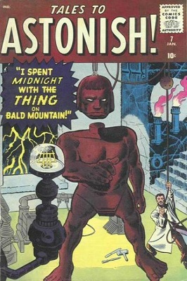 Tales to Astonish 7. Click for value
