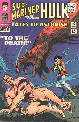 Tales to Astonish 80. Click for value