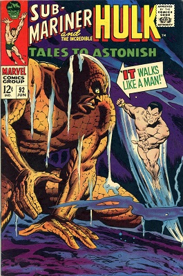 Tales to Astonish 92. Click for value
