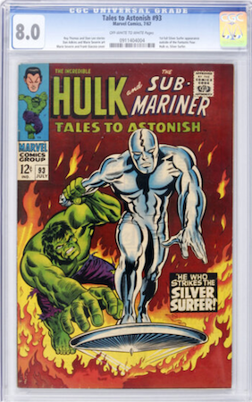 A nice crisp CGC 8.0 of Tales to Astonish 93 will cost you under $350! Click to buy a copy