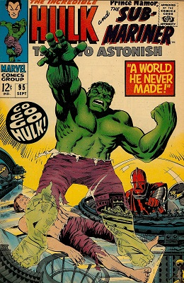 Tales to Astonish 95. Click for values
