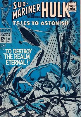 Tales to Astonish 98. Click for value