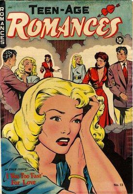 Teen-Age Romances #13: Matt Baker cover. Click for values