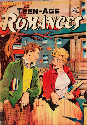 Teen-Age Romances #42. Click for values