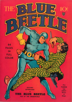 The Blue Beetle #1. Click for current values.