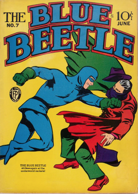 The Blue Beetle #7. Click for current values.